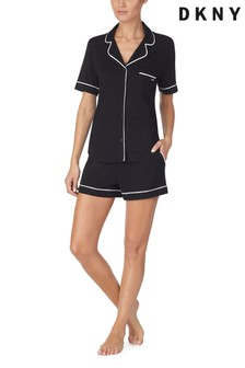DKNY Signature Shorty Notch Collar Pyjama Set