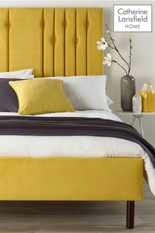 Yellow Lemonwood Bed By Catherine Lansfield