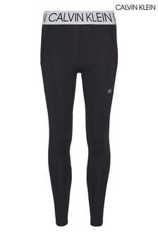 Calvin Klein Black Active Icon 7/8 Leggings