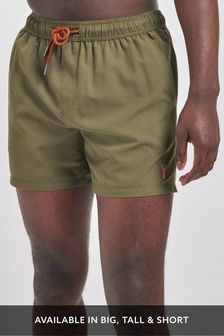 Khaki Essential Swim Shorts