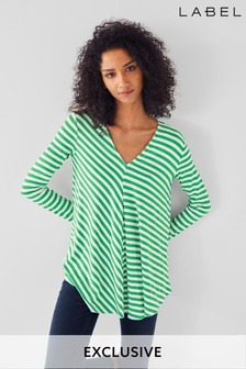 Next/Mix Stripe Jersey Tunic