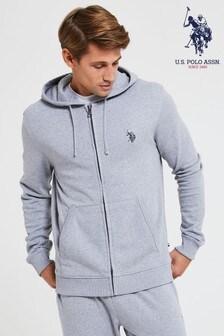 U.S. Polo Assn. Fleece Zip Through Hoody