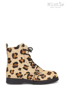 Mintie by Mint Velvet Animal Leopard Print Boots
