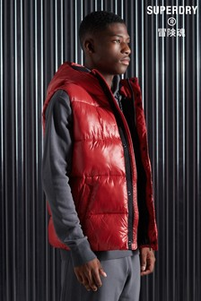 Superdry High Shine Padded Gilet