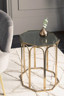 Gold Arch Side Table