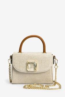 Shimmer Jewel Mini Bag
