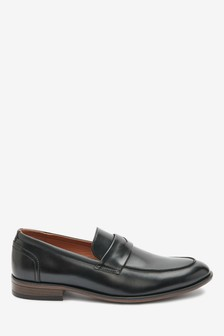Black Saddle Loafers