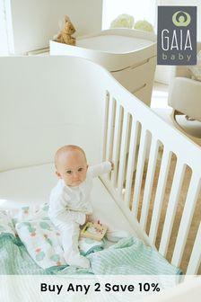 Gaia Serena Complete Sleep Plus Mini Cot White