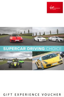 Virgin Experience Days Supercar Driving Choice Gift Experience