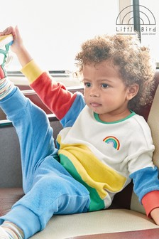 Little Bird Unisex Towelling Sweat And Joggers Set