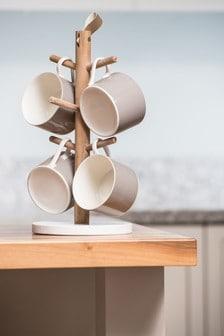 Kitchen Pantry Mug Tree