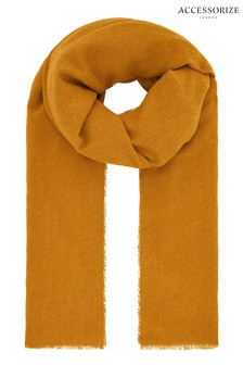 Accessorize Orange Wells Supersoft Scarf