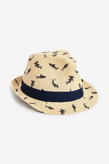 Neutral Shark Trilby (Younger)
