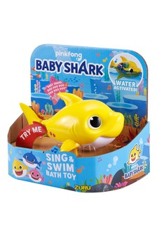 Baby Shark Sing And Swim Bath Toy Assortment