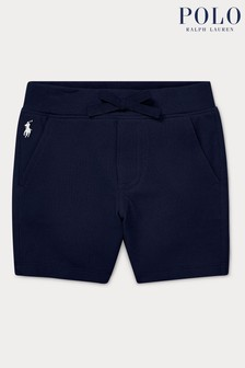 Ralph Lauren Navy Logo Shorts