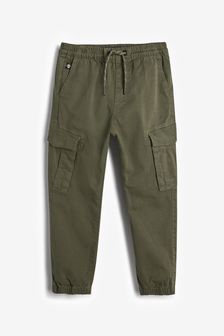 Khaki Cargo Trousers (3-16yrs)