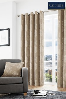 Helsinki Eyelet Curtains by Curtina