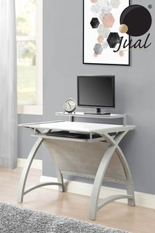 Helsinki 900 Grey Desk By Jual