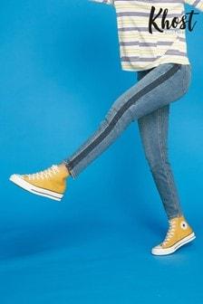 Khost Blue Shadow Stripe Jeans
