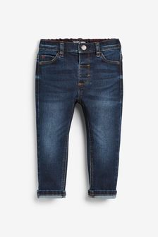 Indigo Slim Fit Jeans With Stretch (3mths-7yrs)