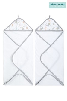 aden + anais Essentials Disney™ Baby - Dumbo New Heights Hooded Towels Two Pack