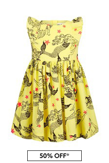 Molo Yellow Cotton Dress