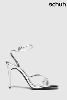 Schuh Silver Seren Heeled Sandals