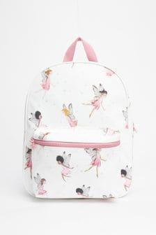 White/Pink Rucksack