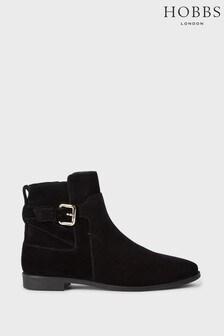Hobbs Black Zoe Ankle Boots