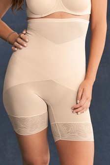 Nude  Firm Control High Waist Thigh Smoother
