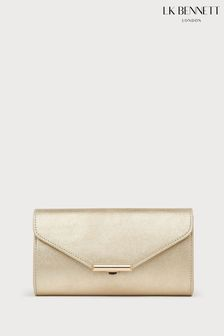 L.K.Bennett Lucy Leather Clutch