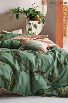 Livia Banana Leaf Cushion by Linen House
