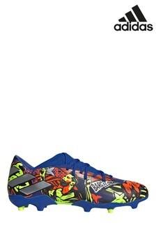 adidas Blue Messi Nemeziz P3 Firm Ground Football Boots