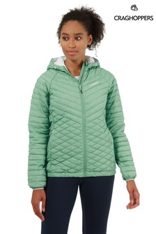 Craghoppers Green Expolite Hood Jacket