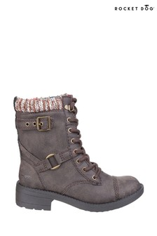 Rocket Dog Brown Thunder Biker Boots