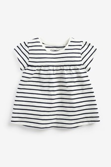 Breton Stripe Cotton T-Shirt (3mths-7yrs)