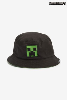 Black Minecraft Bucket Hat (Older)