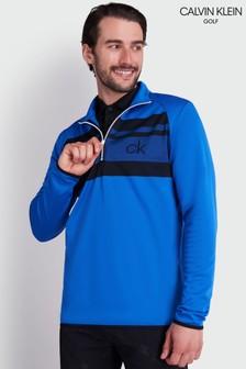 Calvin Klein Golf Blue Taylor Half Zip Top