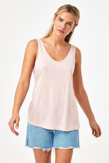 Light Pink Slouch Vest