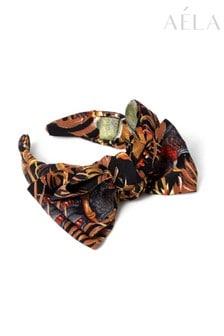 Aela XL Leaf Bow Headband