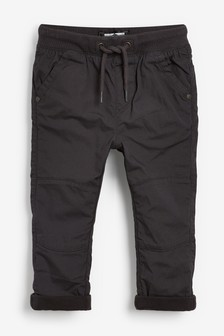 Charcoal Lined Trousers (3mths-7yrs)