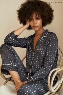 Mint Velvet Spot Print Pyjama Set