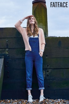 FatFace Blue Wash Lewes Dungarees
