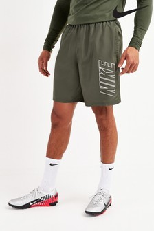 Nike Khaki Dri-Fit Academy Shorts