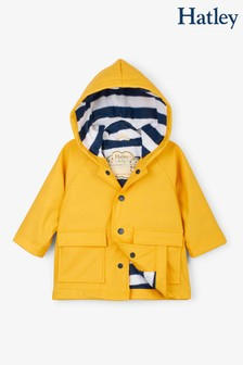 Hatley Yellow Baby Classic Raincoat