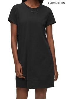 Calvin Klein Black CK Reconsidered Nightshirt