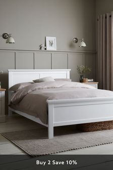White Sutton Bed