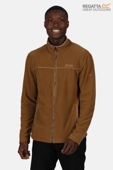 Regatta Brown Earvin Full Zip Fleece Jacket