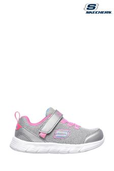 Skechers® Silver Comfy Flex Moving On Sports Trainers