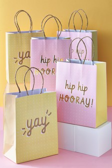 Set of 5 Gift Bags
